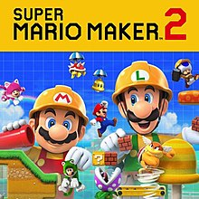 Super Mario Maker 2 cover art